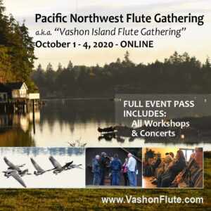 Pacific Northwest Flute Gathering - Full Event Pass