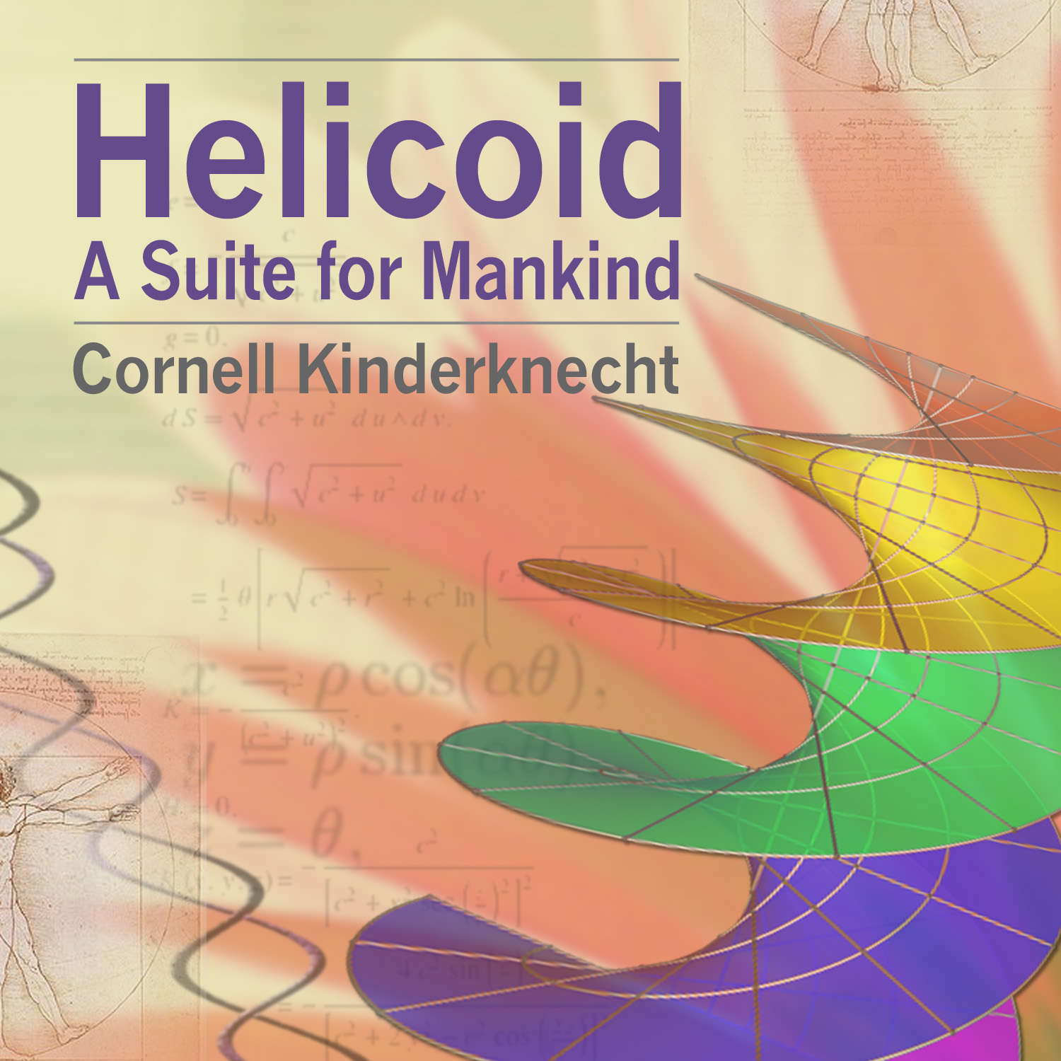 Helicoid, A Suite for Mankind digital download by Cornell Kinderknecht